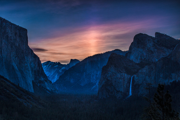 dawn at Tunnel view